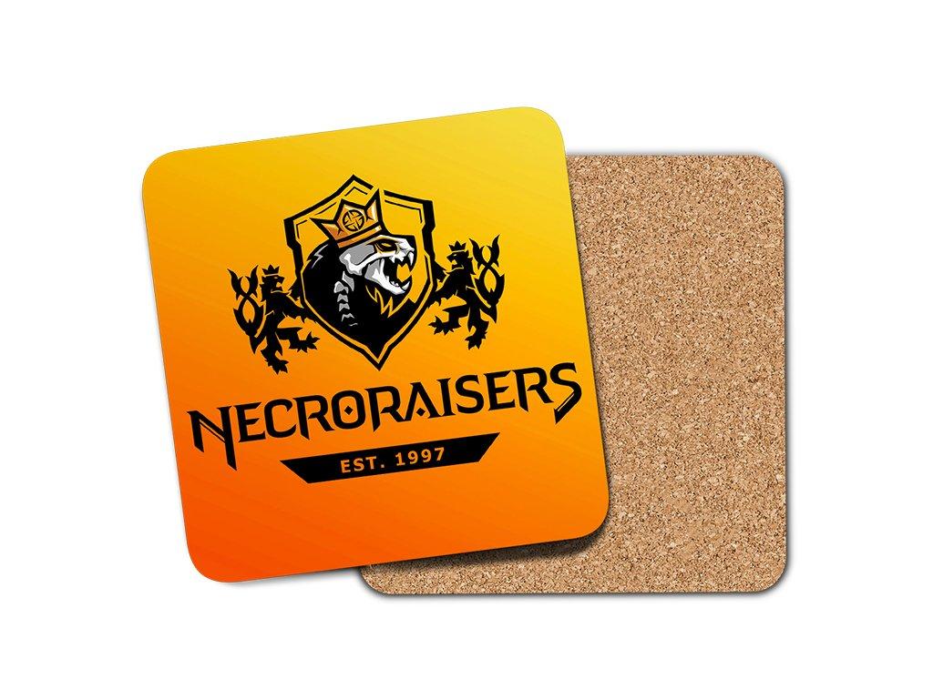 Necroraisers podtácek umístění na eshop