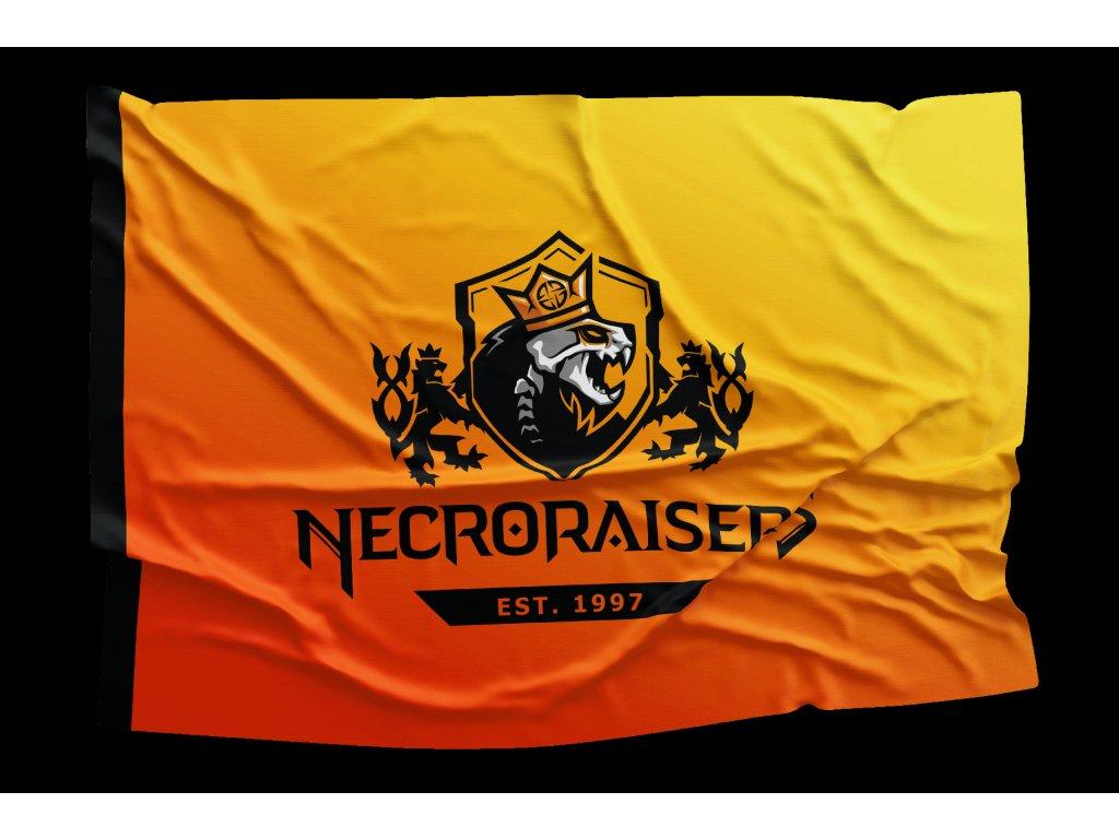 Necroraisers VLAJKA VELKÁ MOCK UP