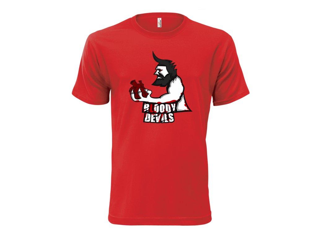 Tričko červené MOCK UP