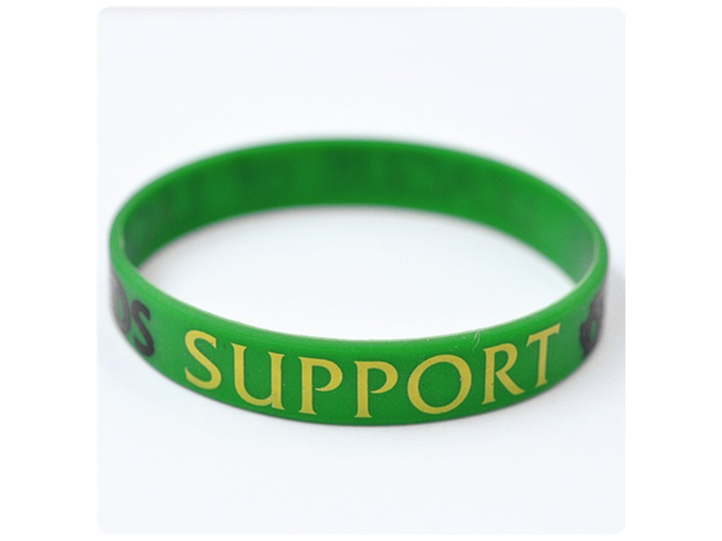 20pcs Silicone Bracelets LOL League of Legends Game Creeper Sport wristband with ADC JUNGLE MID SUPPORT