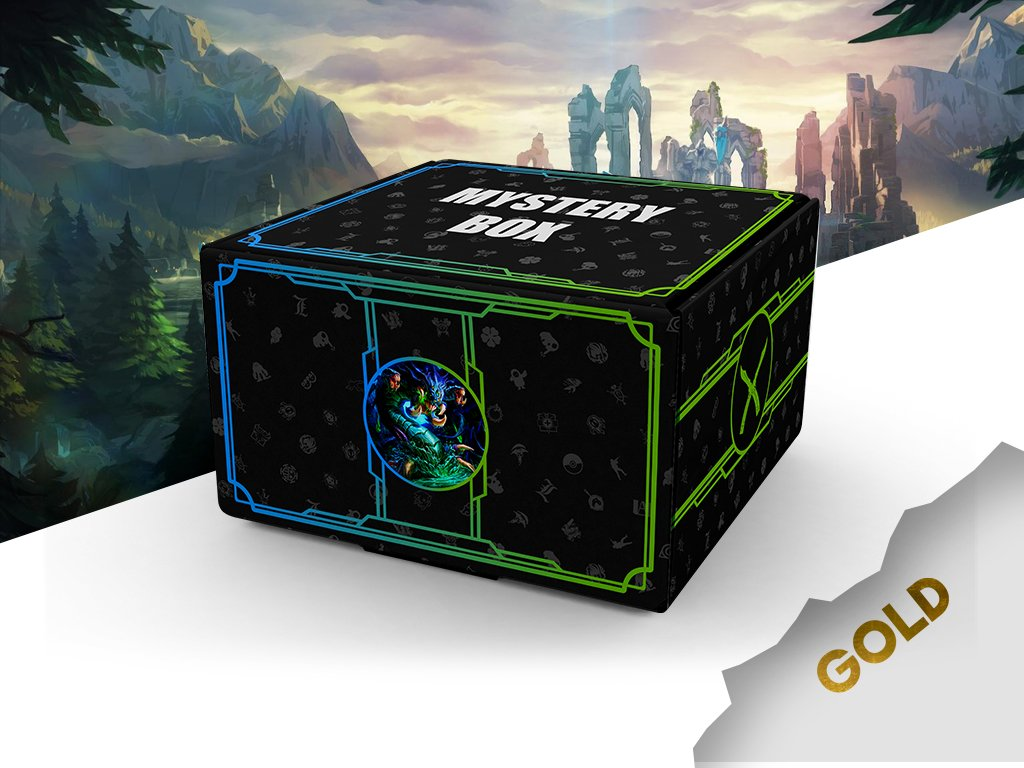 LEAGUE OF LEGENDS Mystery box3