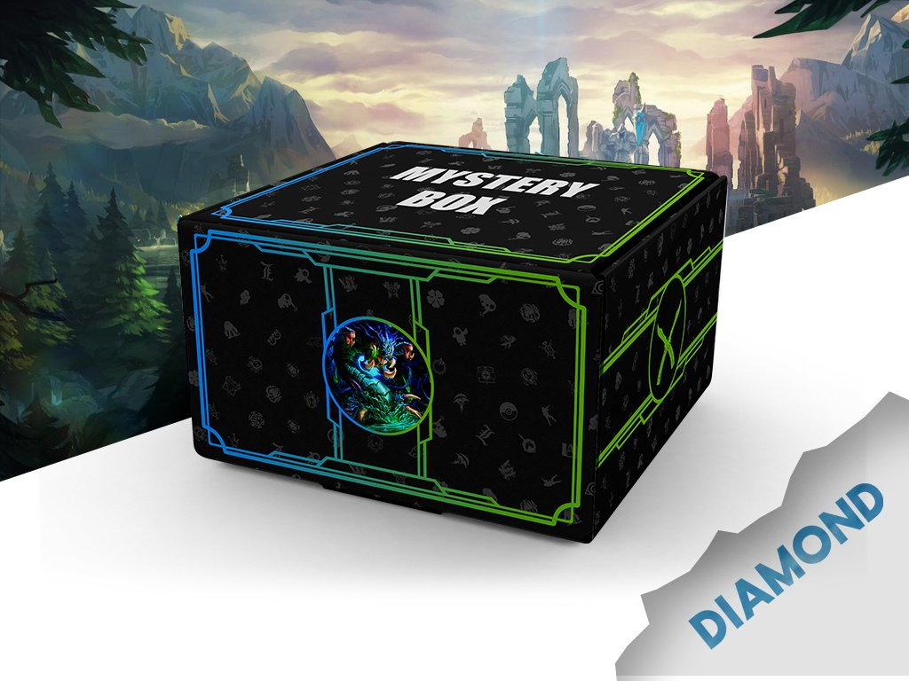 LEAGUE OF LEGENDS Mystery box4