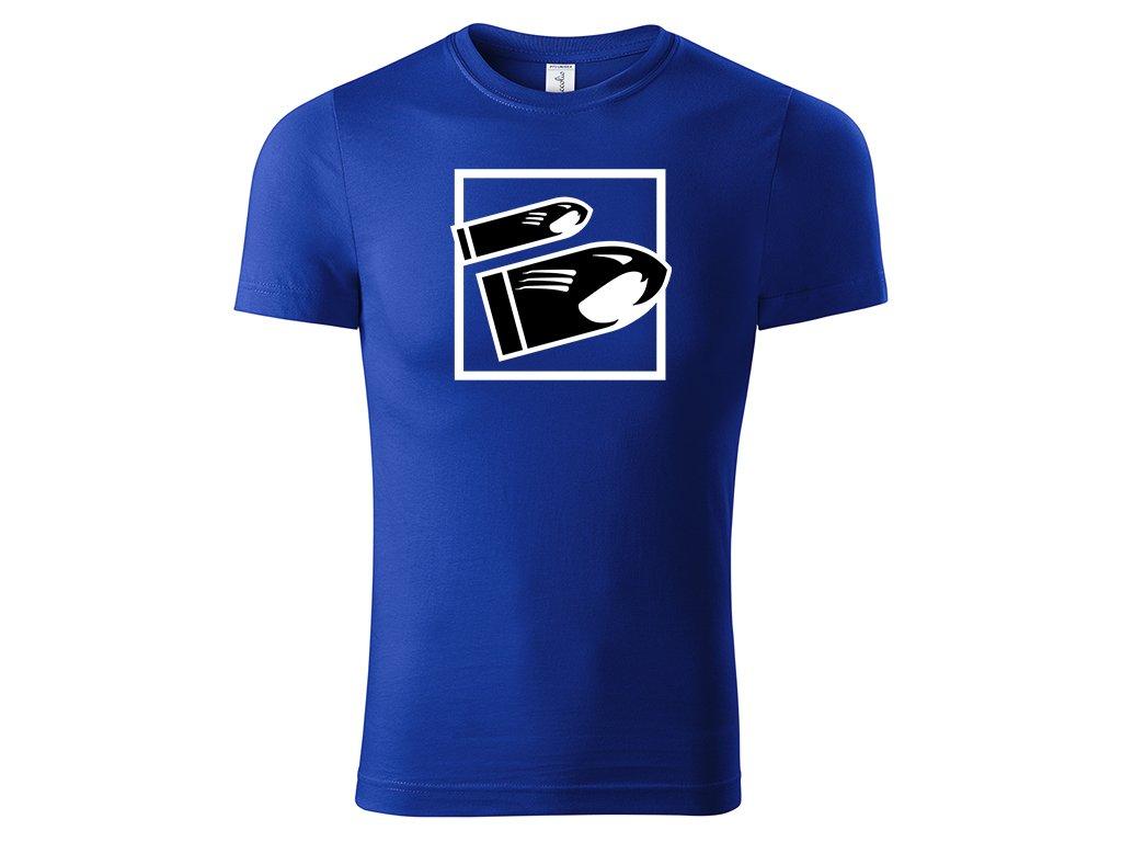 tričko Bucky strong blue