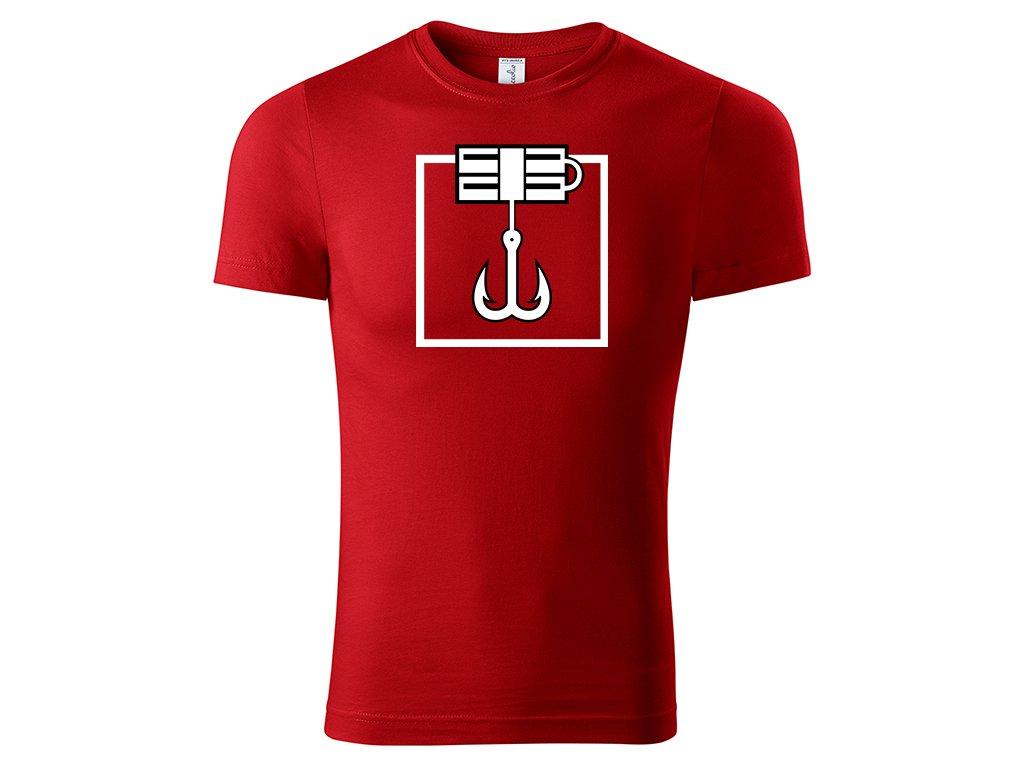 Tričko Kapkan červené
