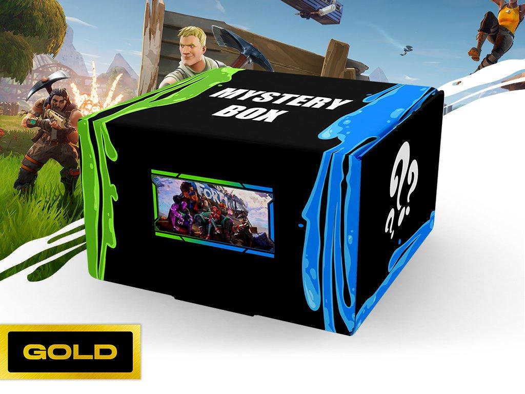 Fortnite Mystery box gold