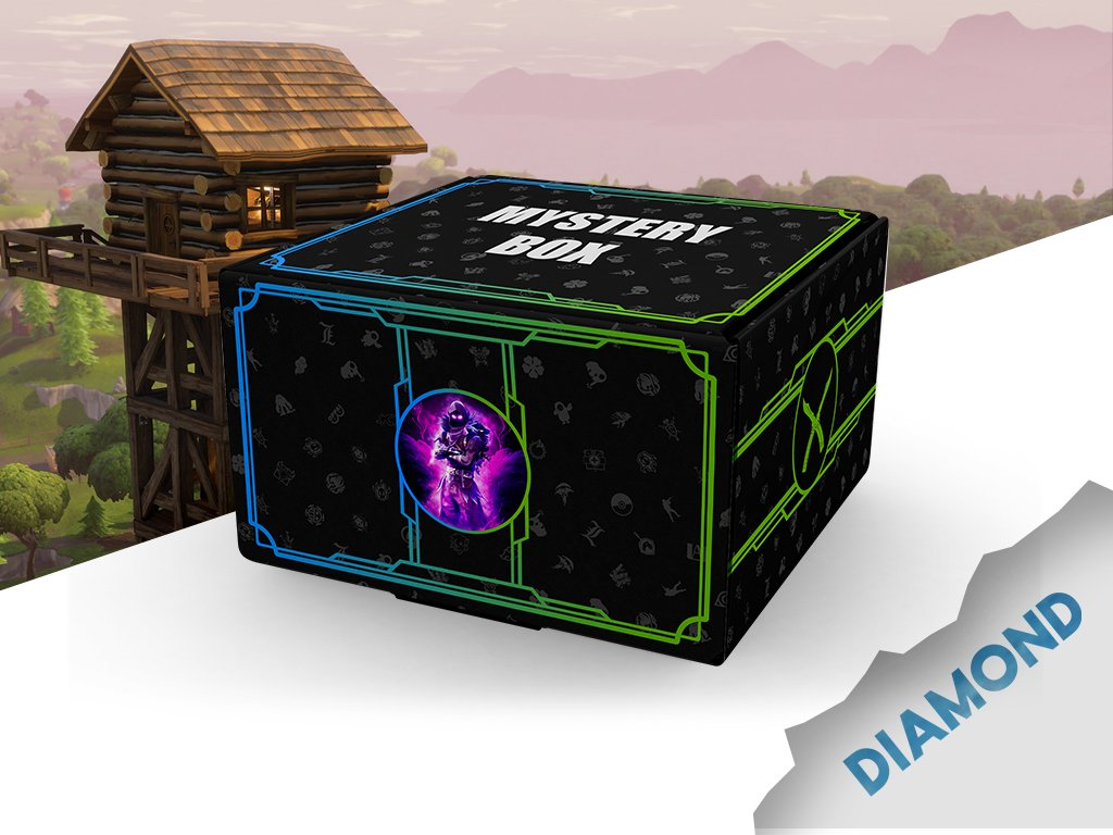 Fortnite Mystery box diamond