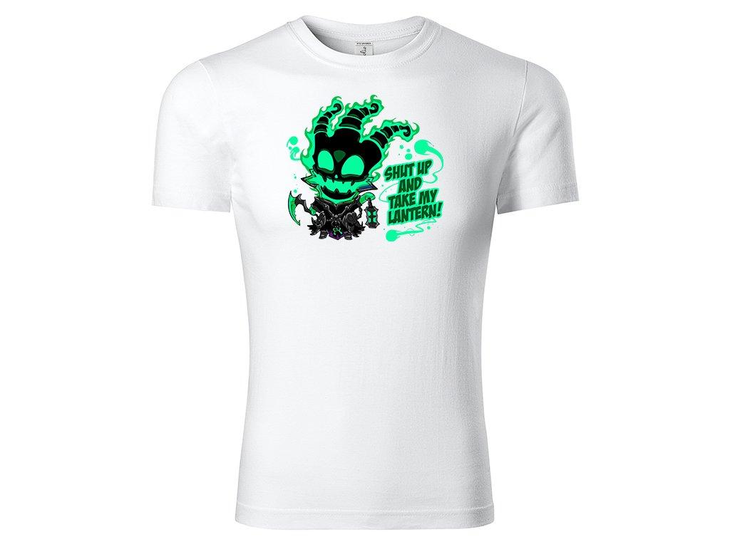 Tričko Thresh bílé