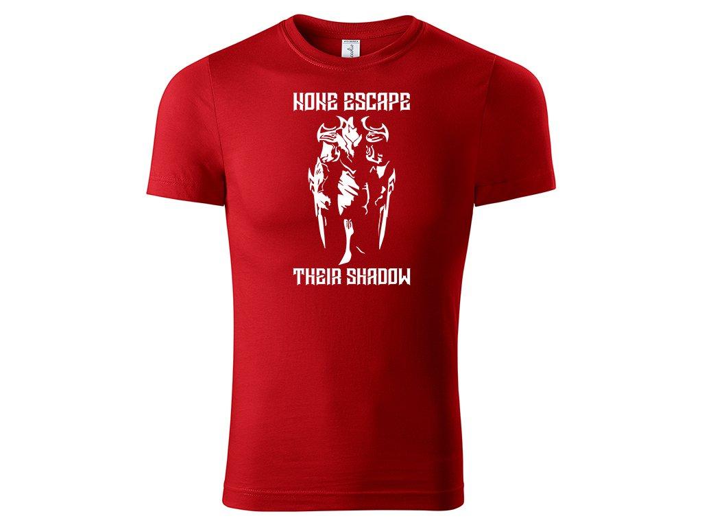 Tričko Zed červené