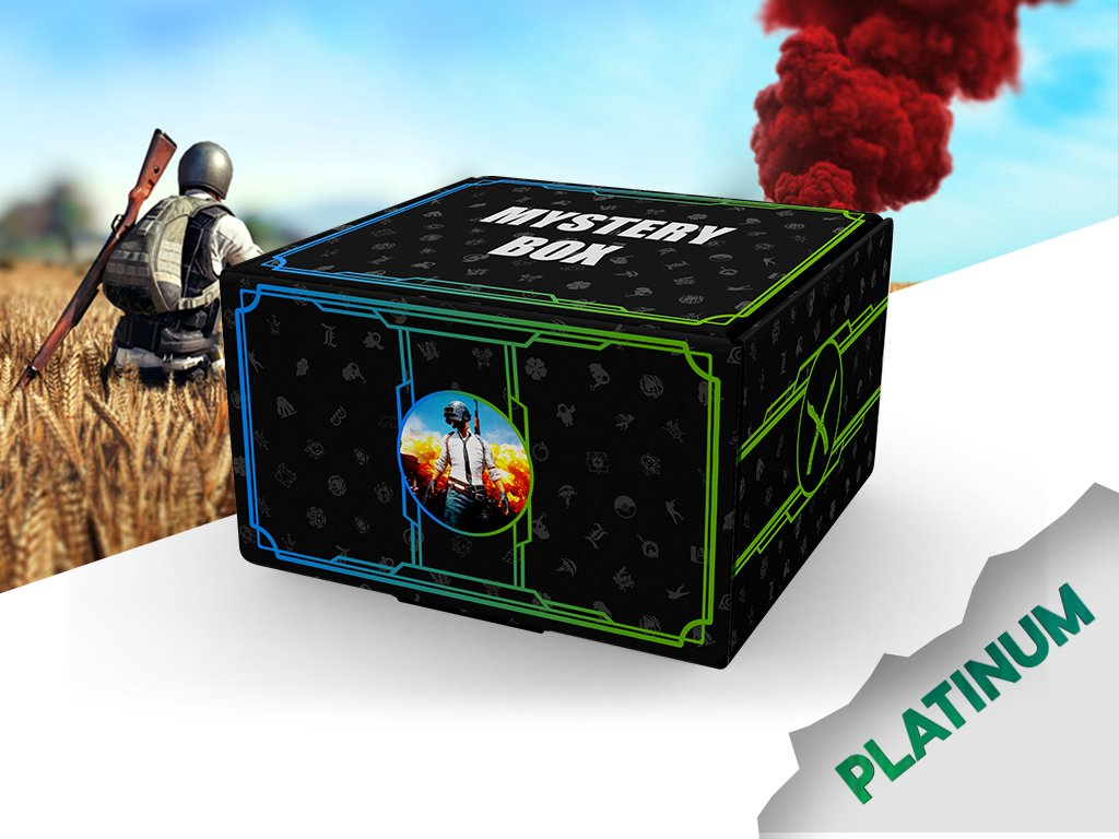 PUBG Mystery box platinum