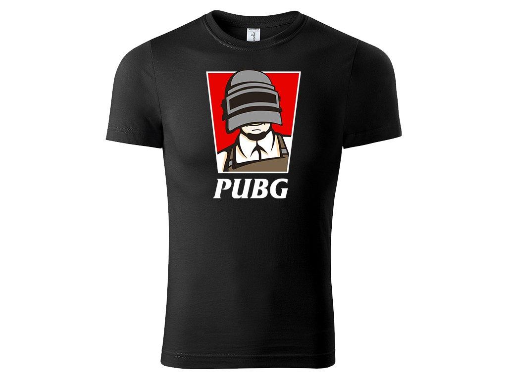 Tričko PUBG KFC Edition černé