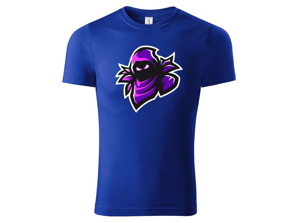Tričko Raven modré