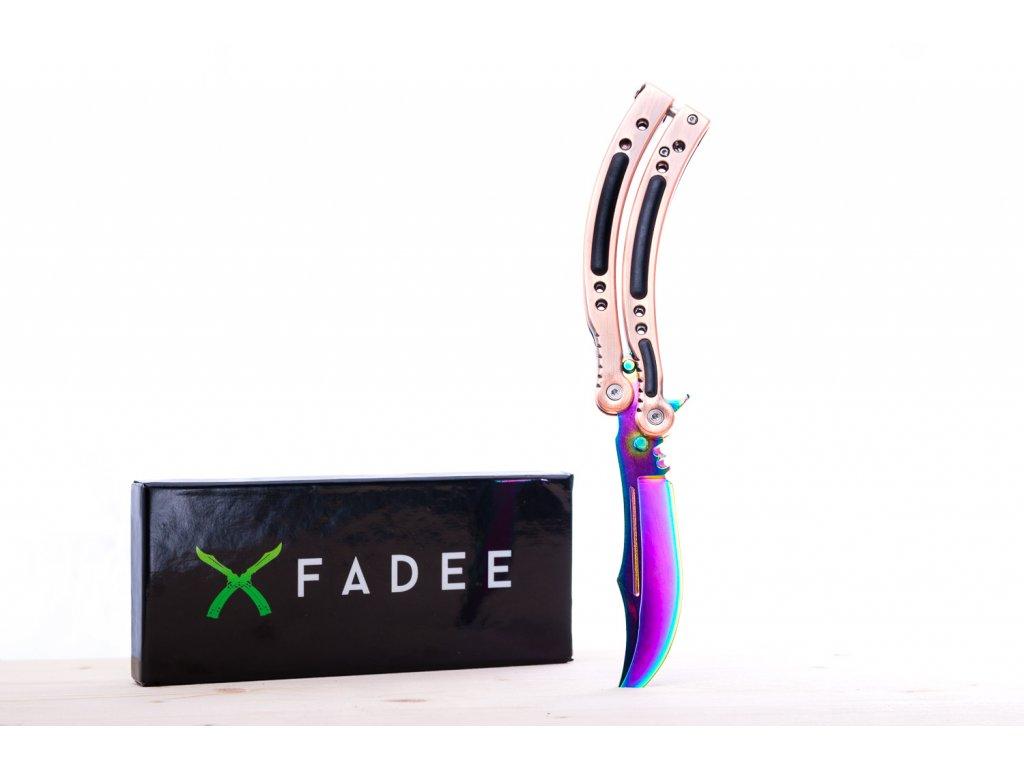 Butterfly Fade - motýlek CS:GO nože