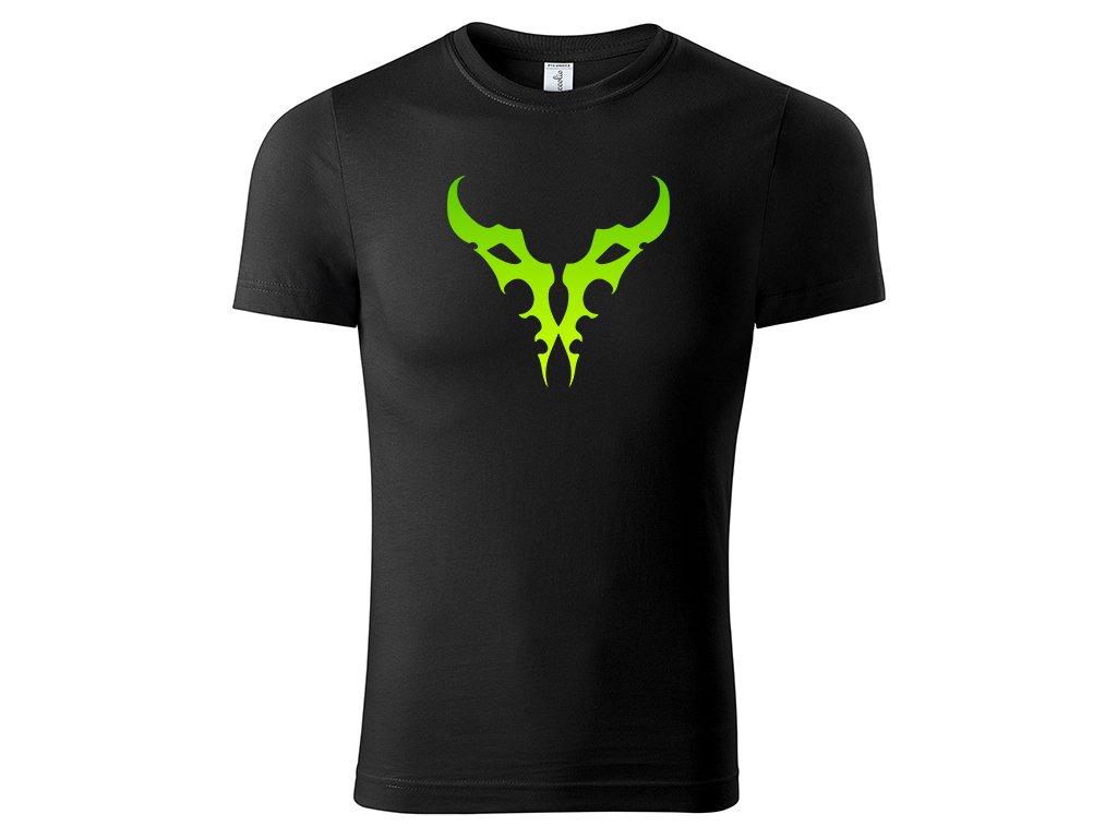 Tričko Logo Illidan černé