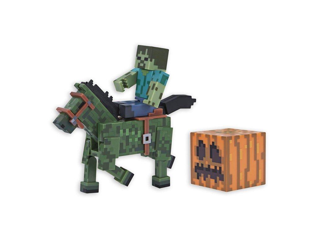 minecraft zombie s konem