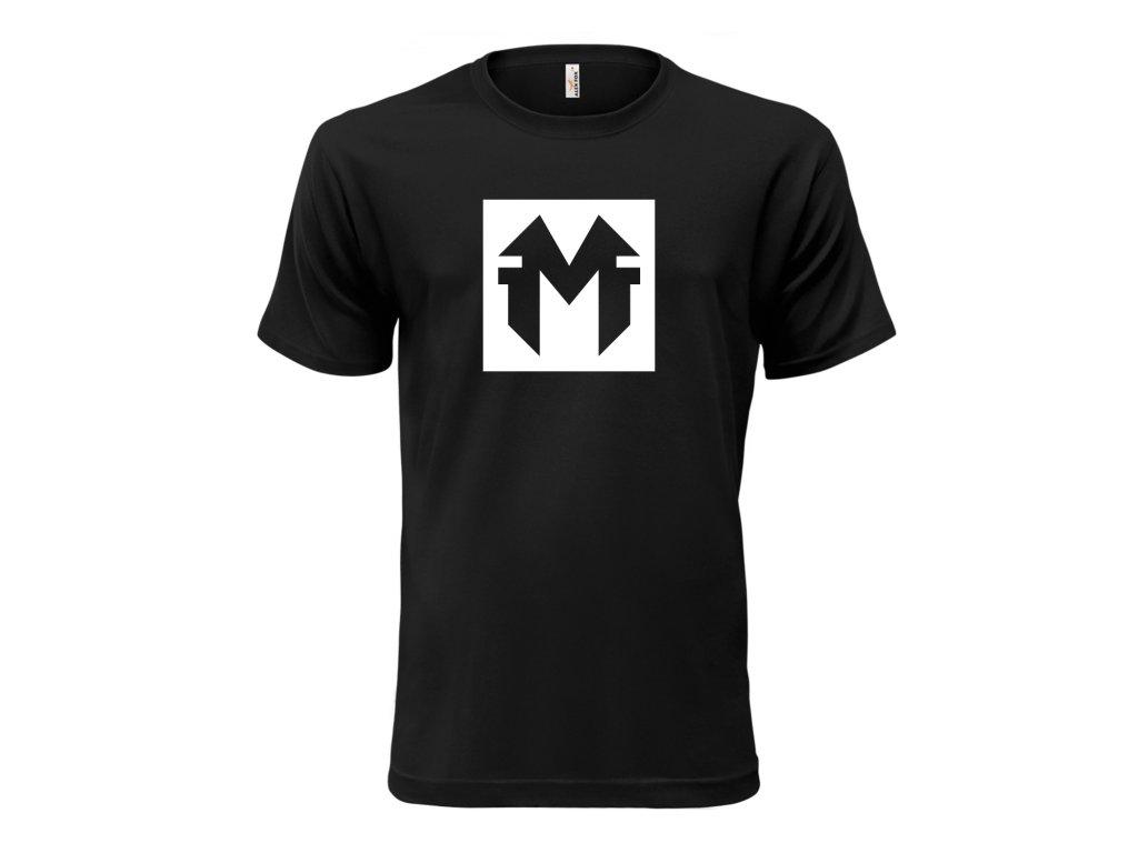 Tričko Black MindFinder CLASSIC MOCK UP