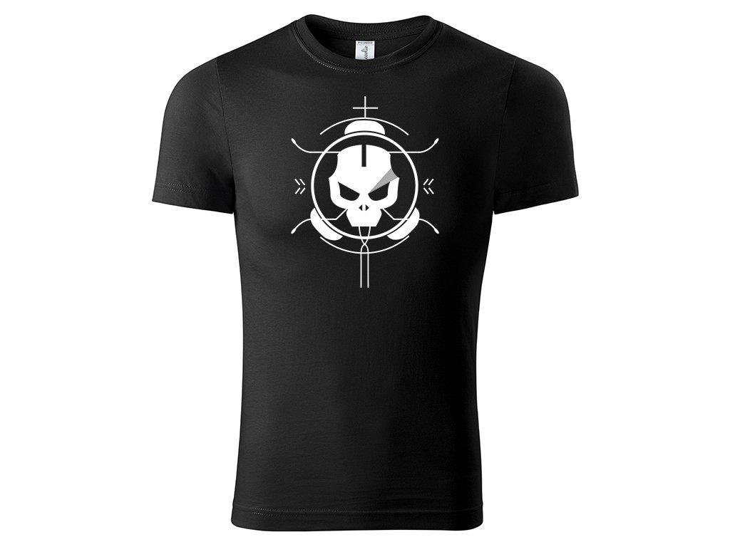 Tričko Kill černé