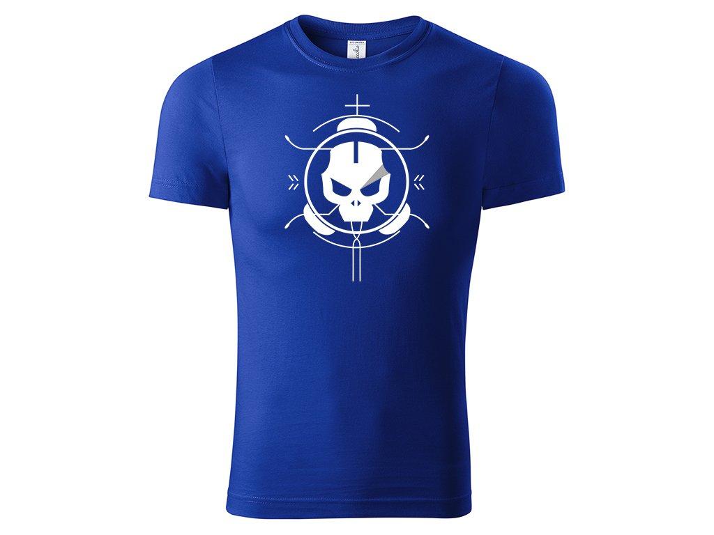 Tričko Kill modré