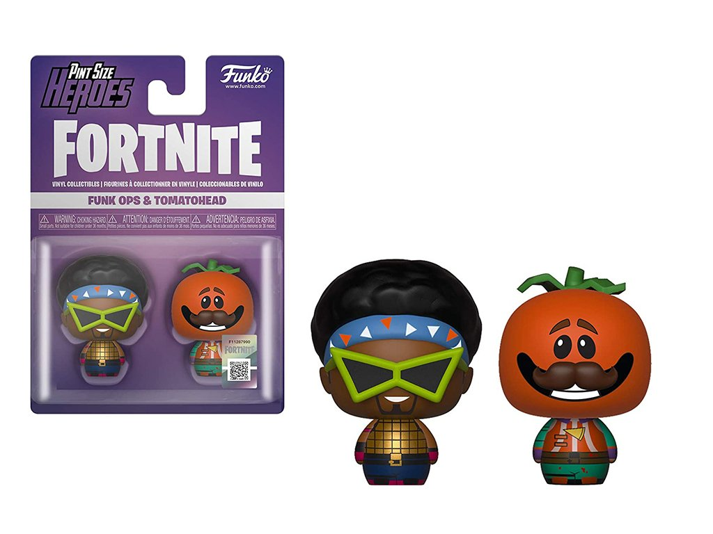 Funko Pint Size Heroes set Funk Ops & Tomatohead - 4 cm