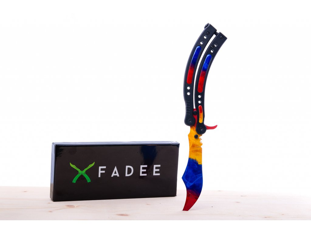 (BS) Butterfly Marble Fade - tupý