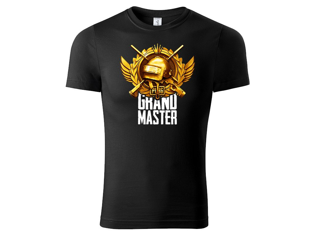 Tričko Grand Master černé