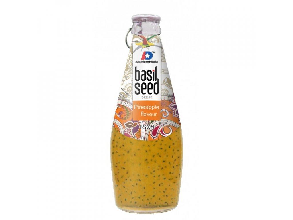 basil seed pineapple