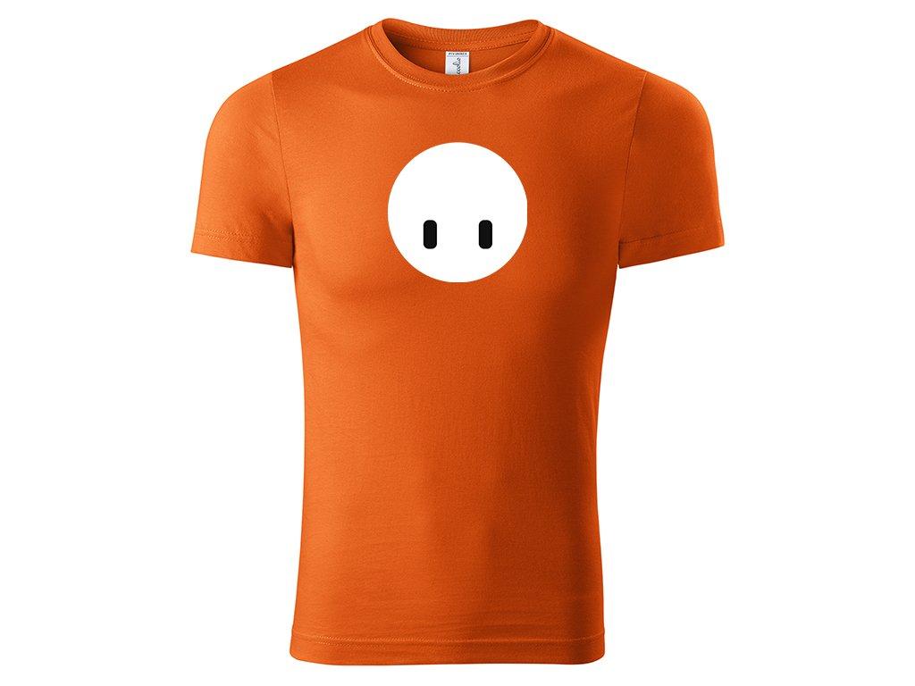 Fall guy face oranžová