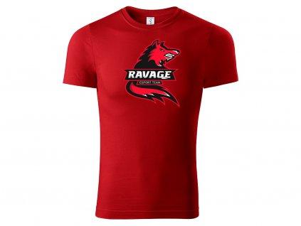 Tričko Ravage red na eshop