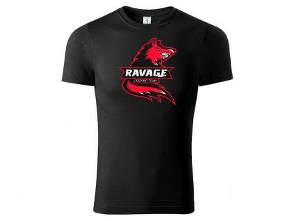 Tričko Ravage black na eshop