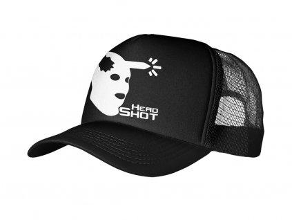 Trucker Black Head Shot