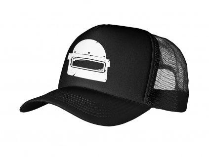 Trucker Black helma