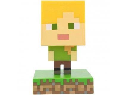 Lampička Minecraft Alex - 11,5 cm