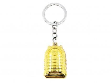 Přívěsek na klíče PUBG Batoh zlatý 2