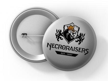 Necroraisers ŠEDÁ placka 50 umístění na eshop