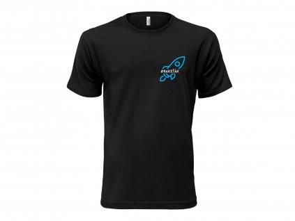 Tričko Raketak černé CLASSIC MOCK UP