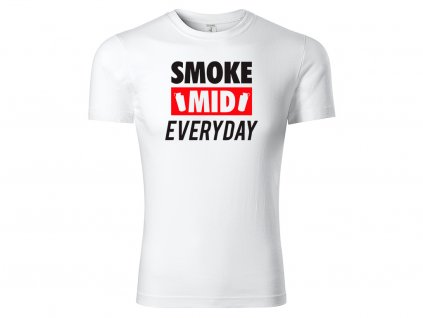 Tričko Smoke MIND White CLASSIC MOCK UP