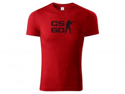 Tričko CS GO logo CLASSIC MOCK UP