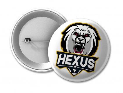 placka HEXUS WHITE 50 umístění na eshop