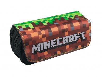 Školní pouzdro Minecraft Hlína