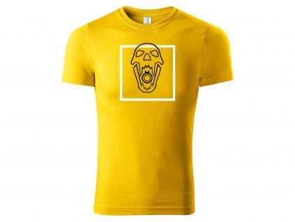 Tričko Blackbeard žluté