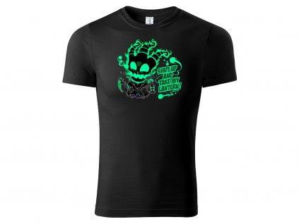 Tričko Thresh černé