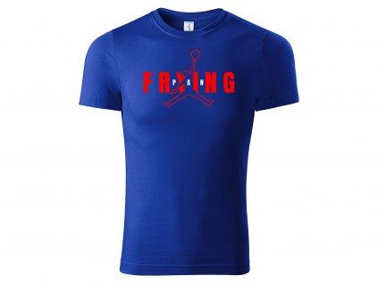 Tričko Frying Pan modré
