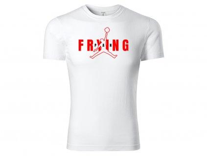 Tričko Frying Pan bílé