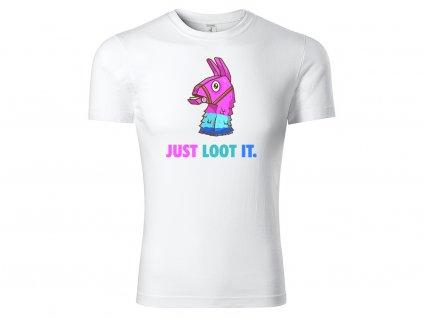 Just loot it bílá
