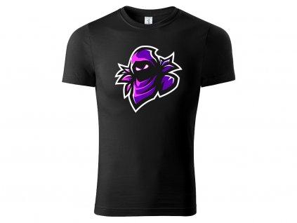 Tričko Raven černé