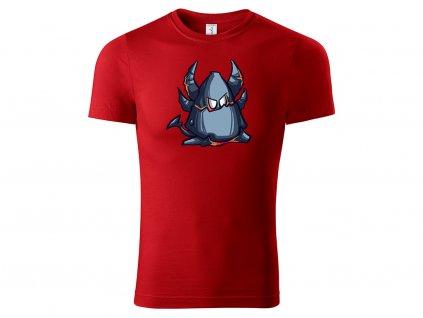 Tričko Deathwing červené