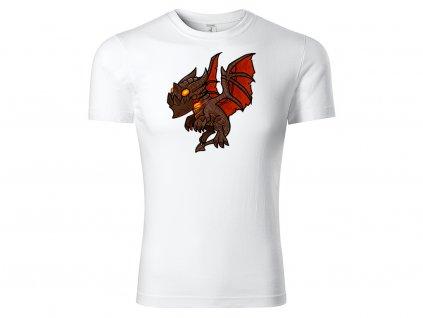 Tričko Chibi Deathwing bílé