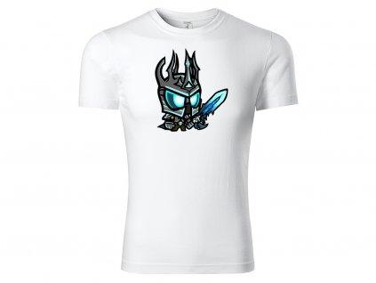 Tričko Chibi Lich King bílé