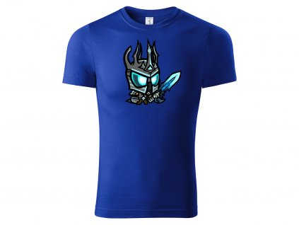Tričko Chibi Lich King modré