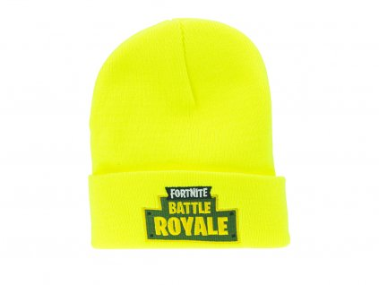 Dětská čepice Battle Royale - žlutá