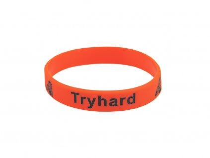 Silikonový náramek Tryhard
